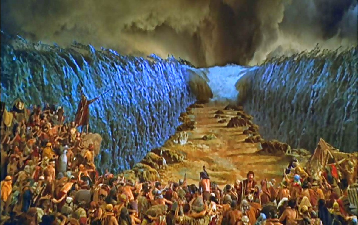 Crossing the Red Sea (Exodus14-16)