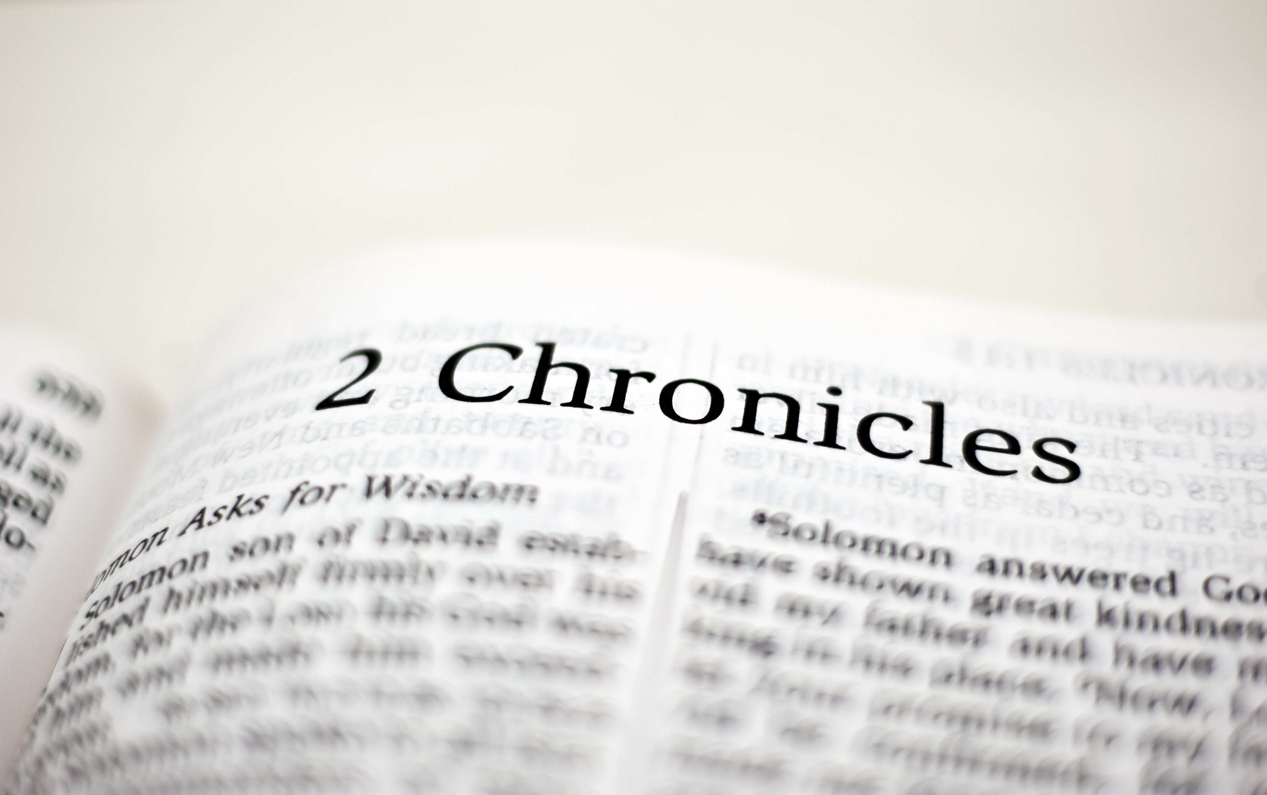 Book of 2 Chronicles