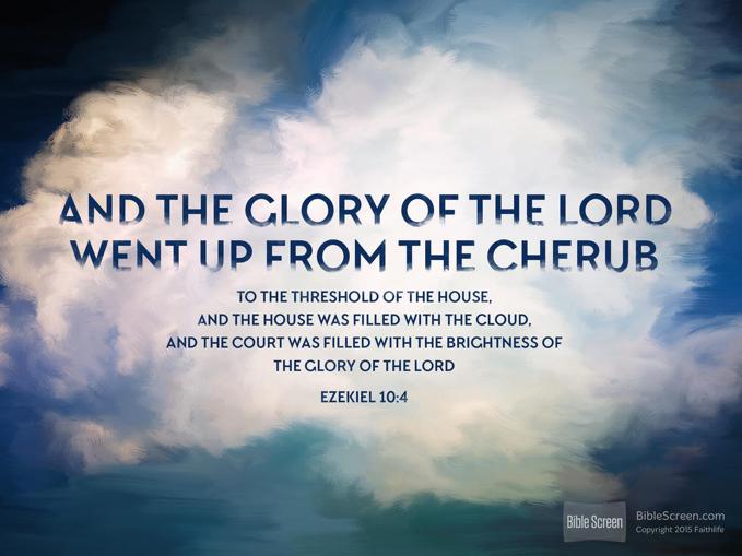 Ezekiel 10 4