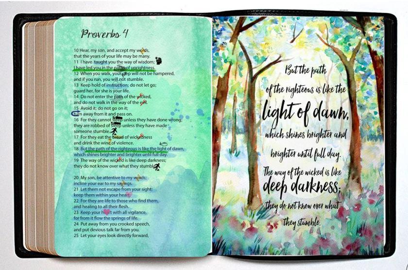 path-of-dawn-bible-journaling