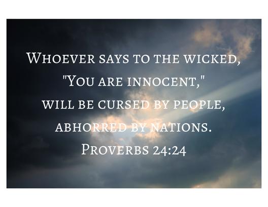 Proverbs 24-24