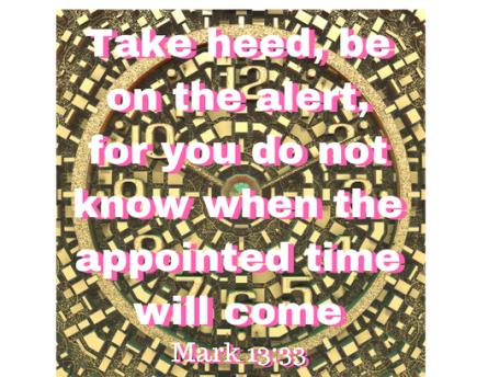 Mark 13 33