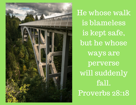 Proverbs 28-18