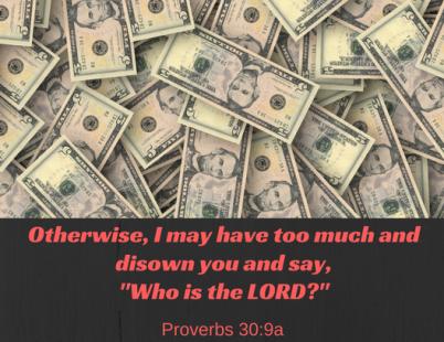 Proverbs 30-9a