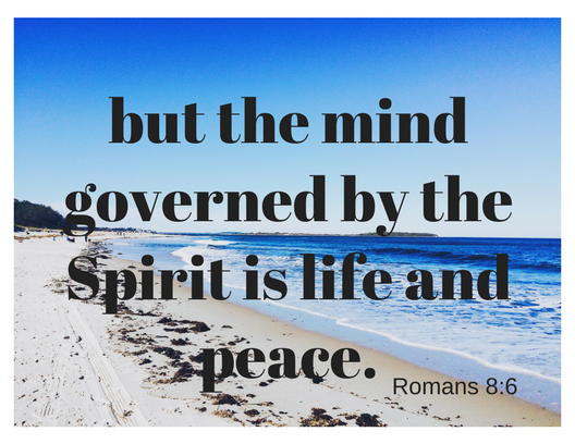 Romans 8-6 b