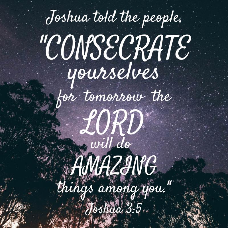Joshua 3-5