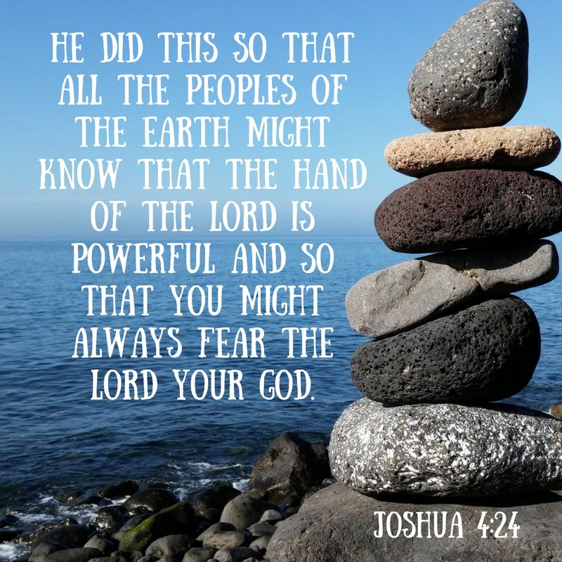 Joshua 4-24