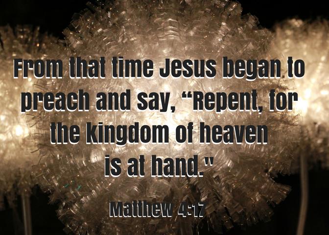 Matthew 4 17