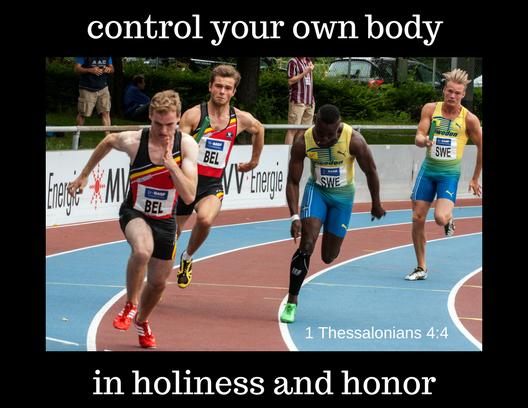 1 Thessalonians 4 4