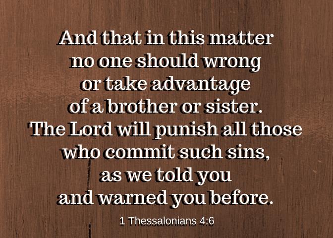 1 thessalonians 4_6 wood