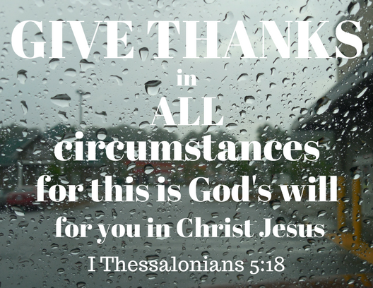 I Thessalonians 5-18