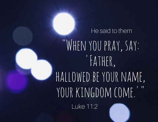 Luke 11 2