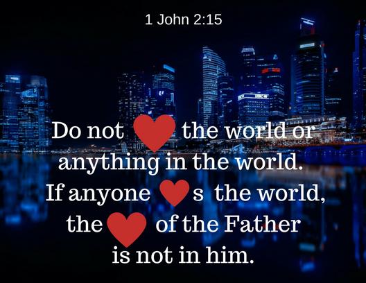 1 John 2 15