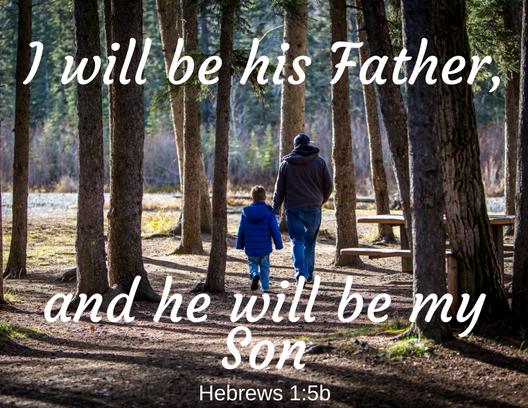 Hebrews 1 5b