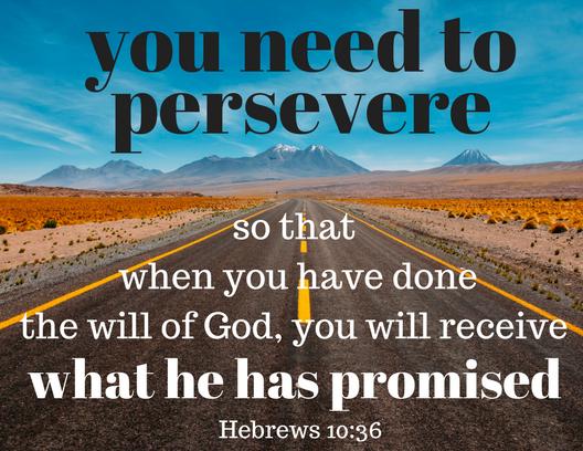 Hebrews 10 36