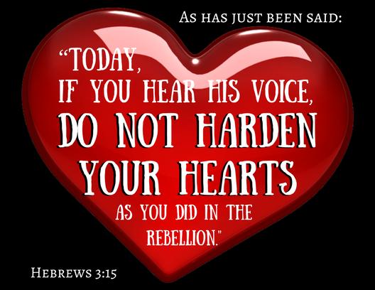 Hebrews 3_15
