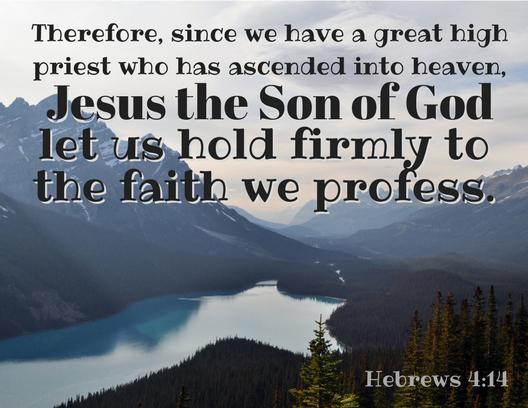 Hebrews 4_14