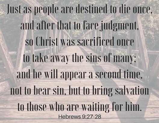 Hebrews 9_27 28