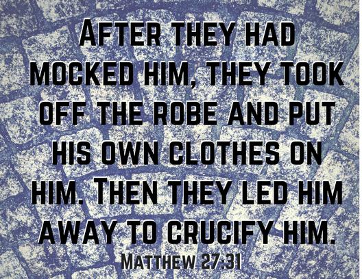 Matt 27 31