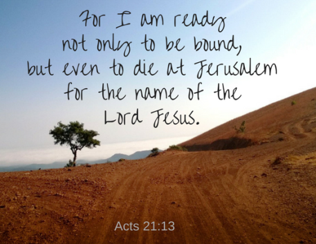 Acts 21 13