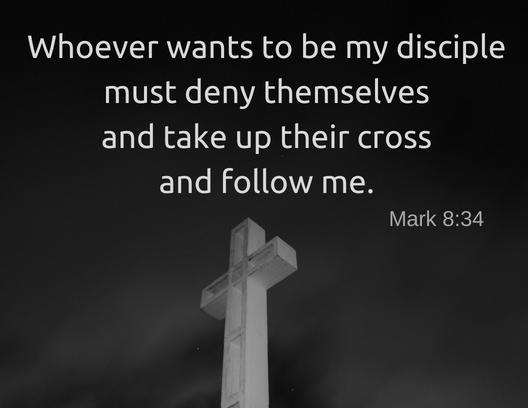 Mark 8 34