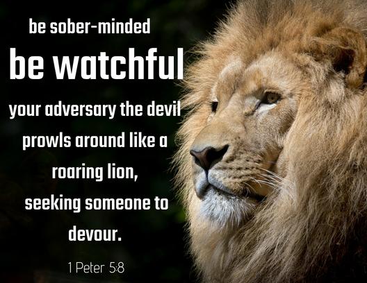 1 Peter 5 8