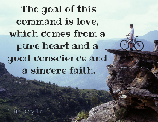 1 Timothy 1 5 (bike)