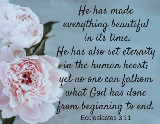 ecclesiastes 3 11