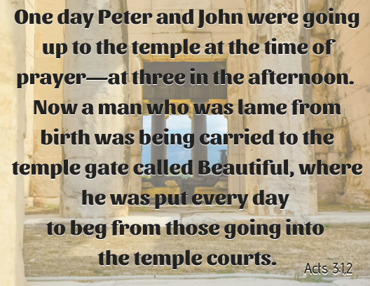 Acts 3 1,2