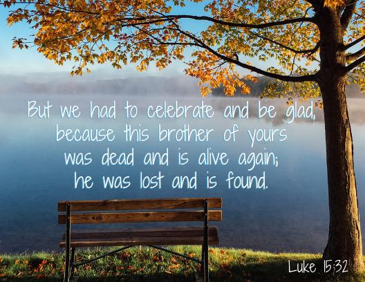 Luke 15 32