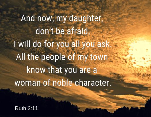 Ruth 3 11