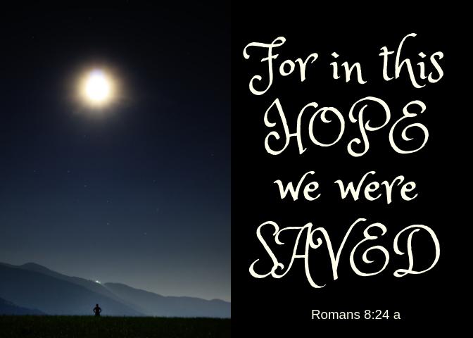 Romans 8 24 a