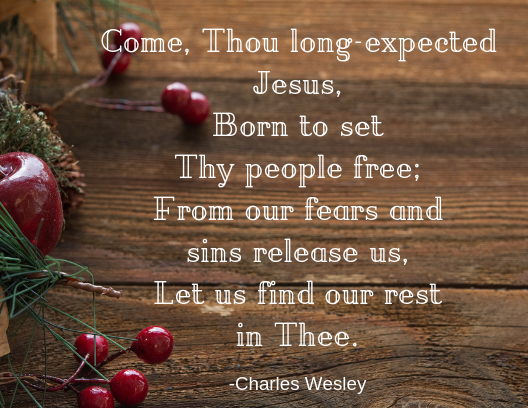 come thou long expected