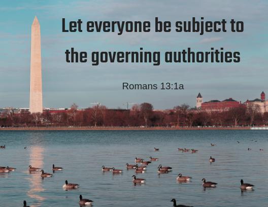 Romans 13 1a