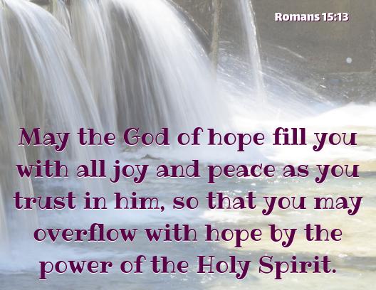 Romans 15 13