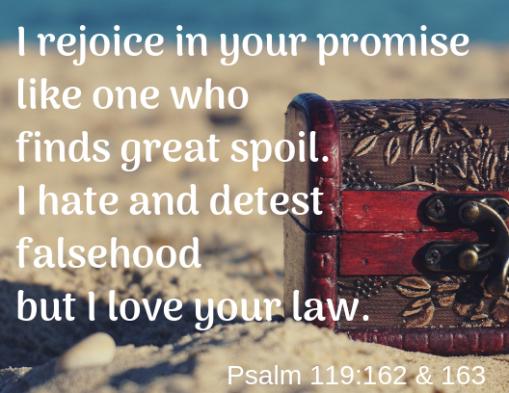 Psalm 119 162 163