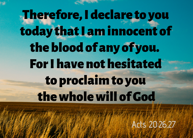 acts 20 26 27