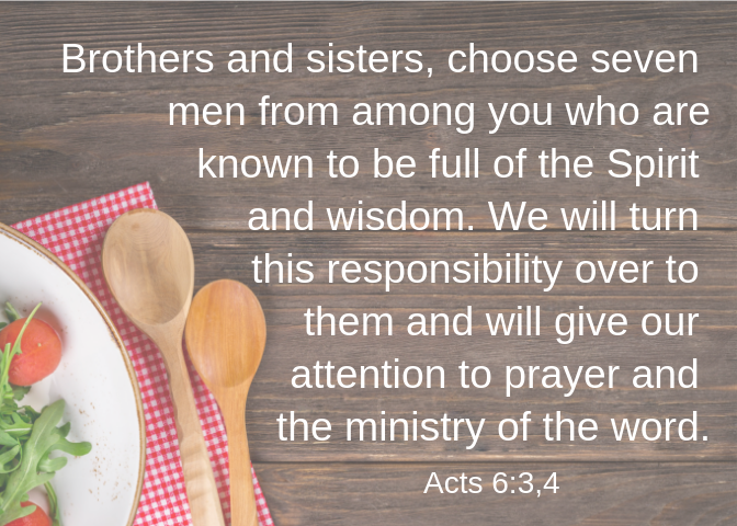 Acts 6 3 4