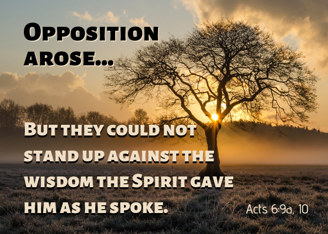 acts 6 9a 10