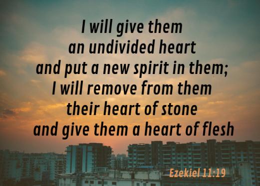 Ezekiel 11 19