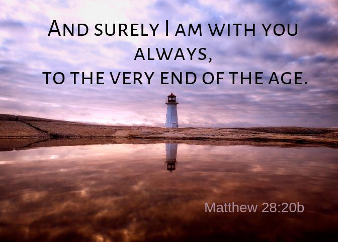 Matthew 28 20b