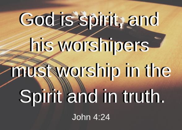 John 4 24