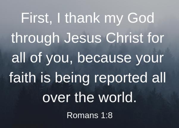 Romans 1 8