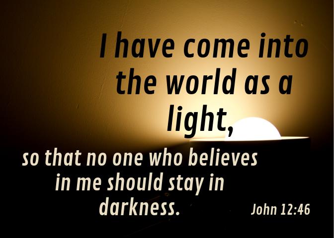 John 12 46