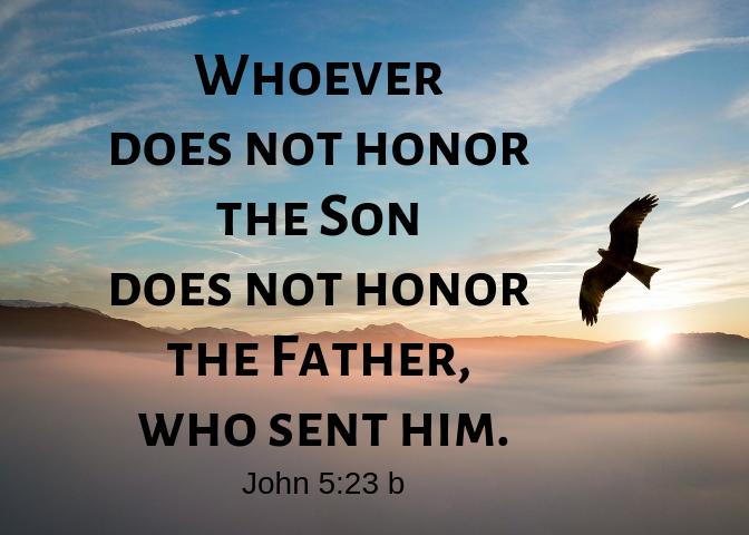 John 5 23 b