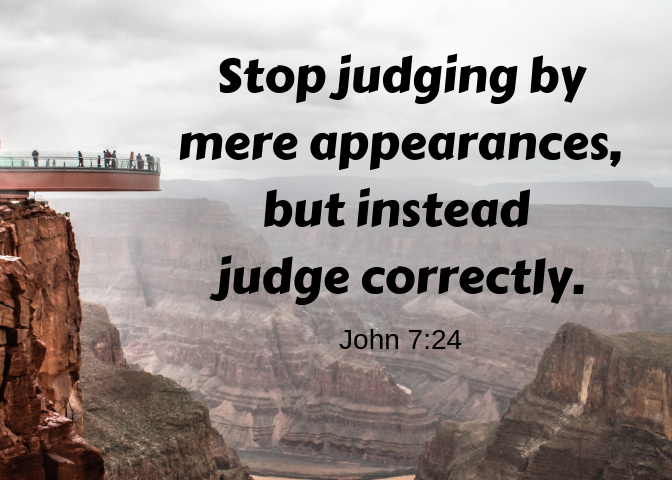 John 7 24