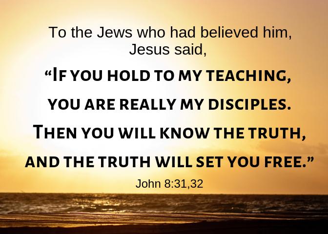 John 8 31 32