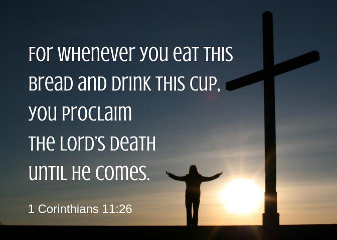 1 Corinthians 11 26
