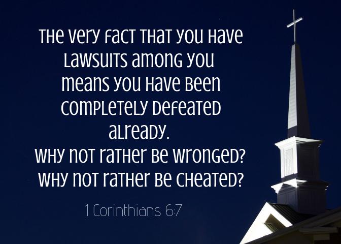 1 Corinthians 6 7