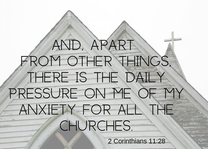 2 Corinthians 11 28
